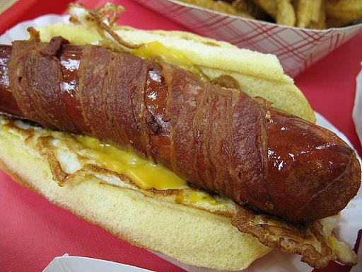 Jersey breakfast dog