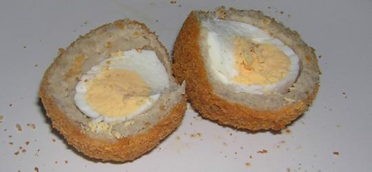 Scotch Egg (cut open)